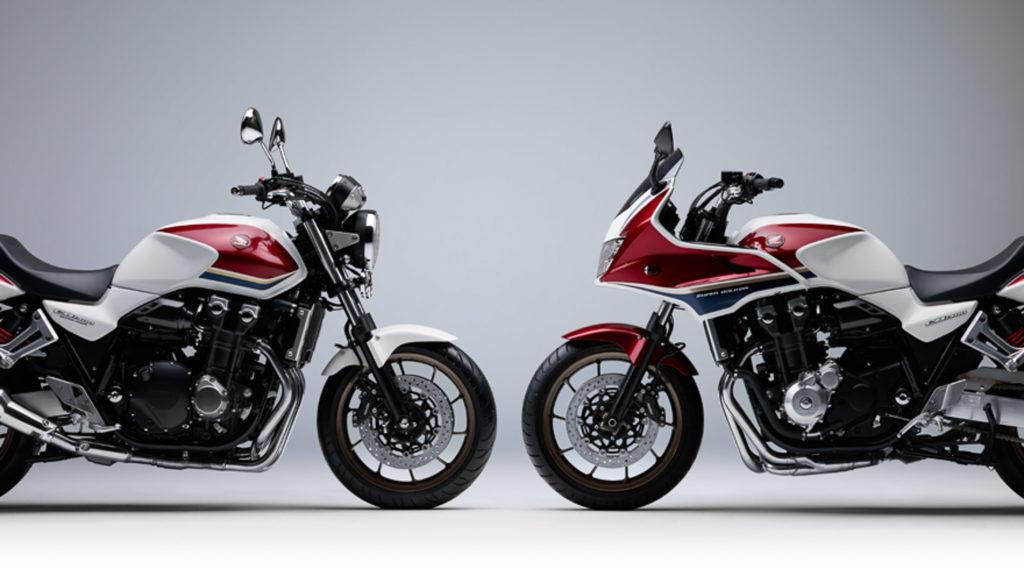 Die neue Honda CB 1300 Super Four und Super Bol d'Or kommen am 26.10.2018