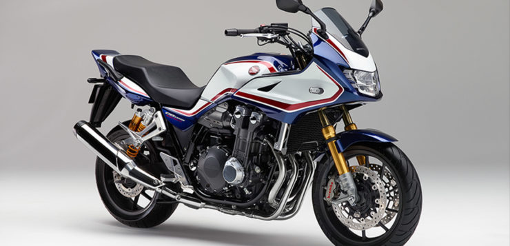 "Honda CB 1300 Super Bol d'Or SP in ""Pearl Hawks Eye Blue"""