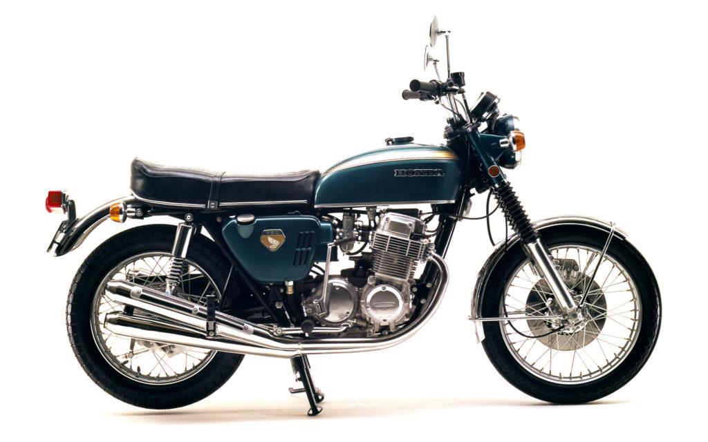 Honda CB 750 Four K0 - erkennbar am Seitendeckel