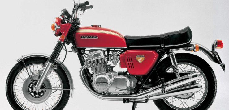 1968 wurd eine Legende geboren - die Honda CB 750 Four