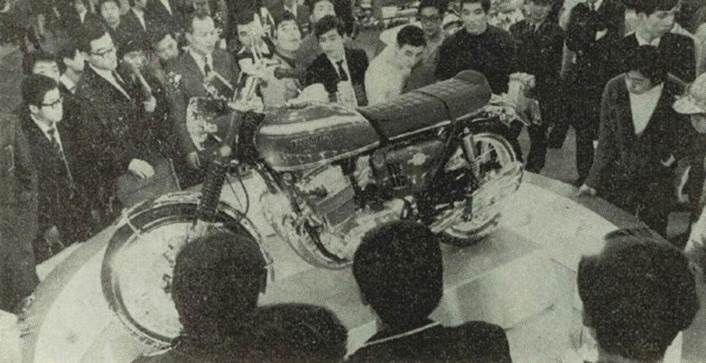 Honda Präsentation auf der 15. Tokyo Motor Show 1968