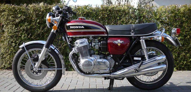 Die Honda CB 750 Four gab es in 13 Modellvarianten