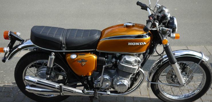 Deutsche Käufer der CB 750 Four wurden auf Ende 1969 vertröstet
