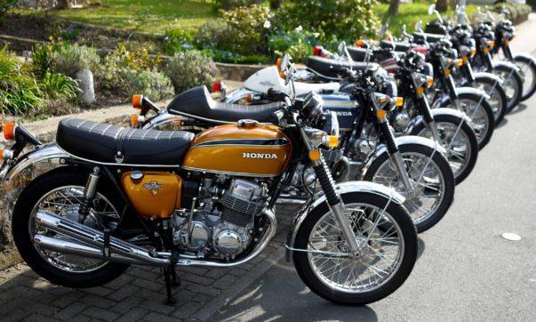 Premiere 1968: Honda CB 750 Four