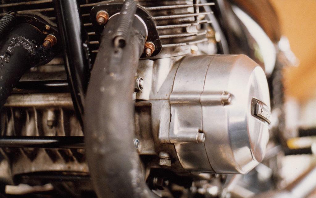 Schwinge wurde aus Aluminium Kastenprofilen gefertigt