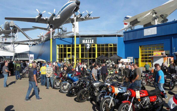 Motorrad Klassikertreffen Sinsheim 2018
