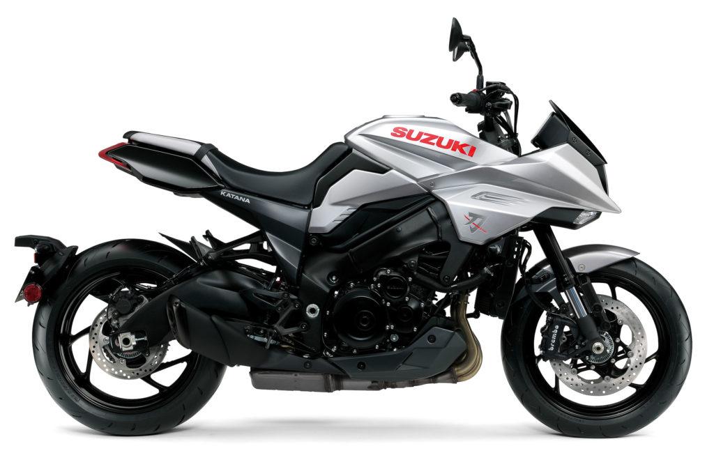 Die neue Suzuki Katana versprüht jede Menge Dynamik