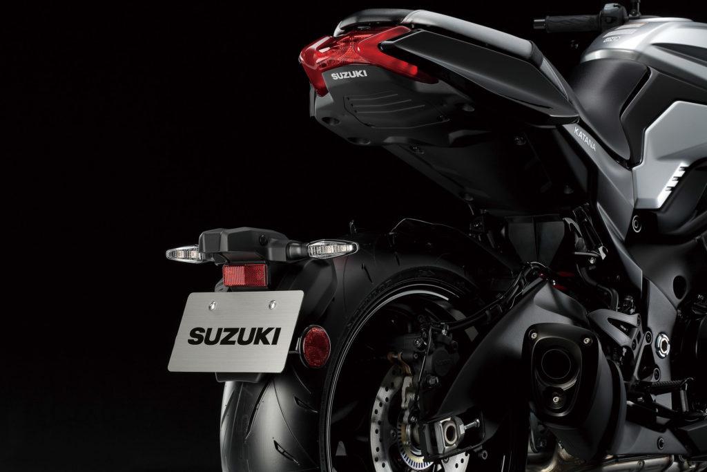 Das Heck der neuen Suzuki Katana