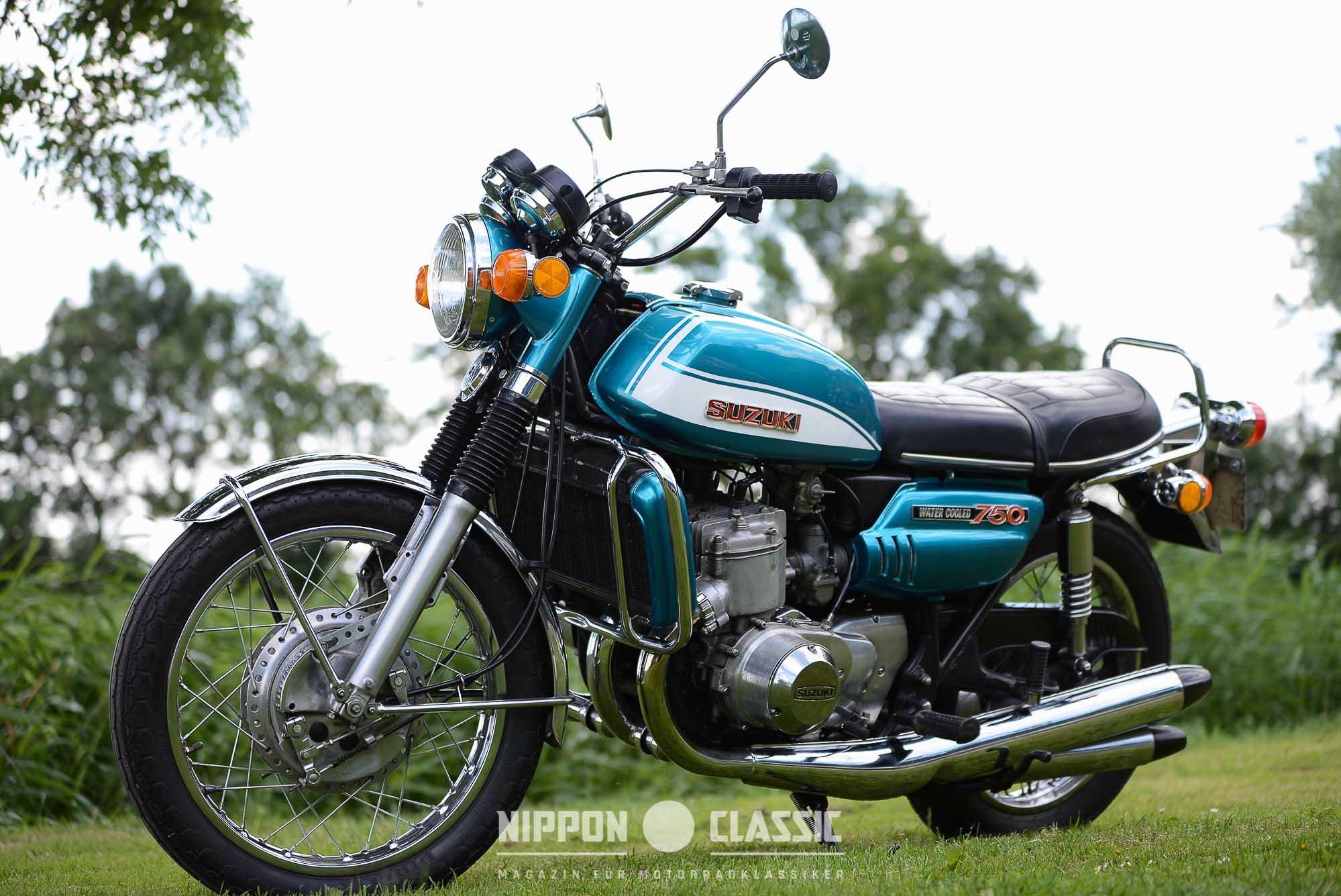 Erstlingswerk: Suzuki GT 750 J von 1972