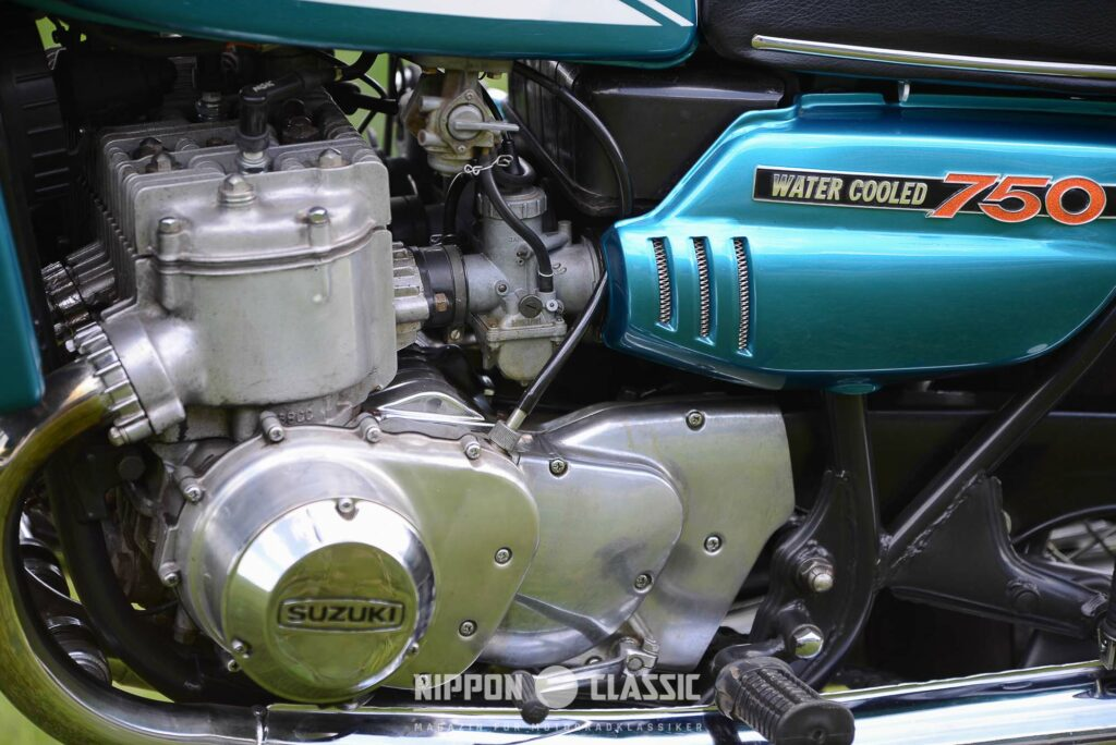 100.000 Kilometer und mehr sind kein Problem für den Suzuki GT 750 Motor
