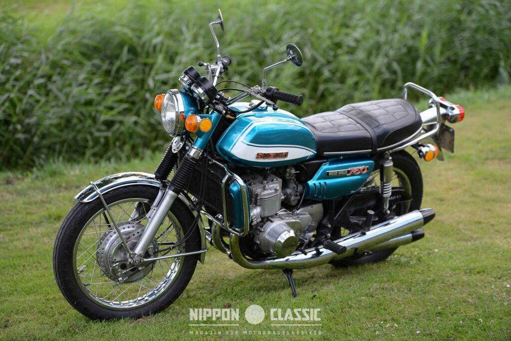 Die GT750 war 1970 ein Knaller auf der Tokio Motor Show