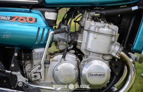 Suzuki Motor der GT 750 J von 1972
