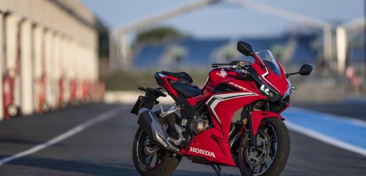 Gelungenes Styling der Honda CBR 500R (2019)