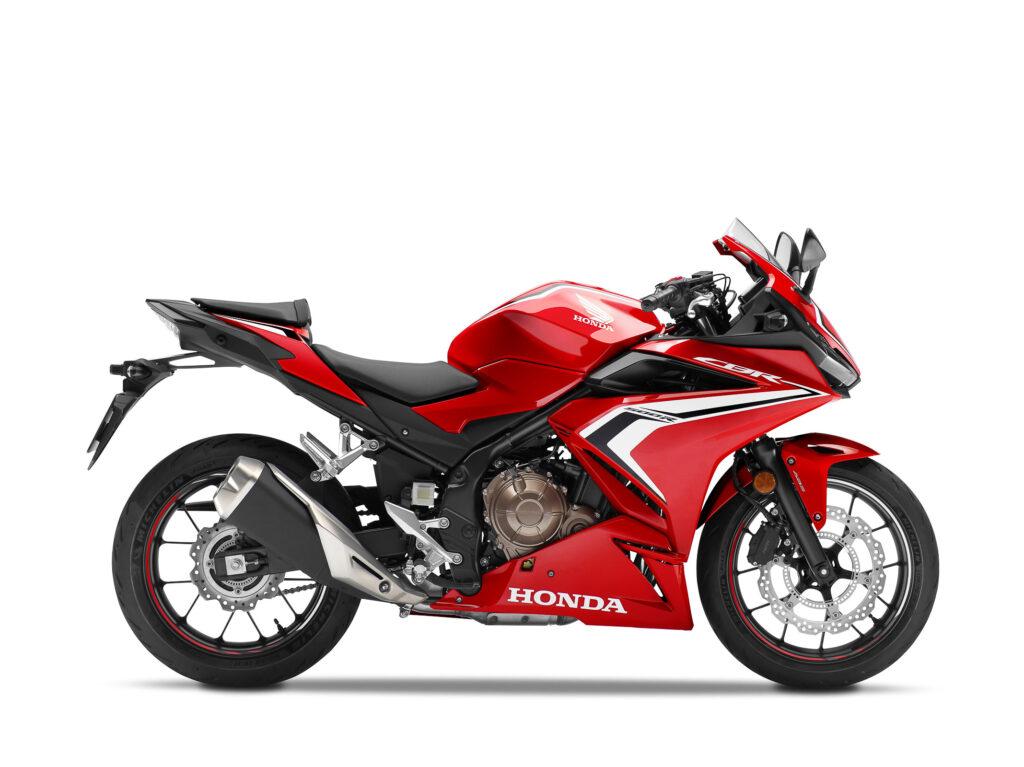 Grand Prix Red dürfte die meistverkaufte Farbe der Honda CBR 500R werden