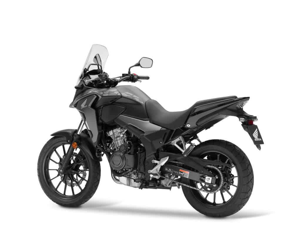 Die Honda CB 500X in Matt Gunpowder Black Metallic