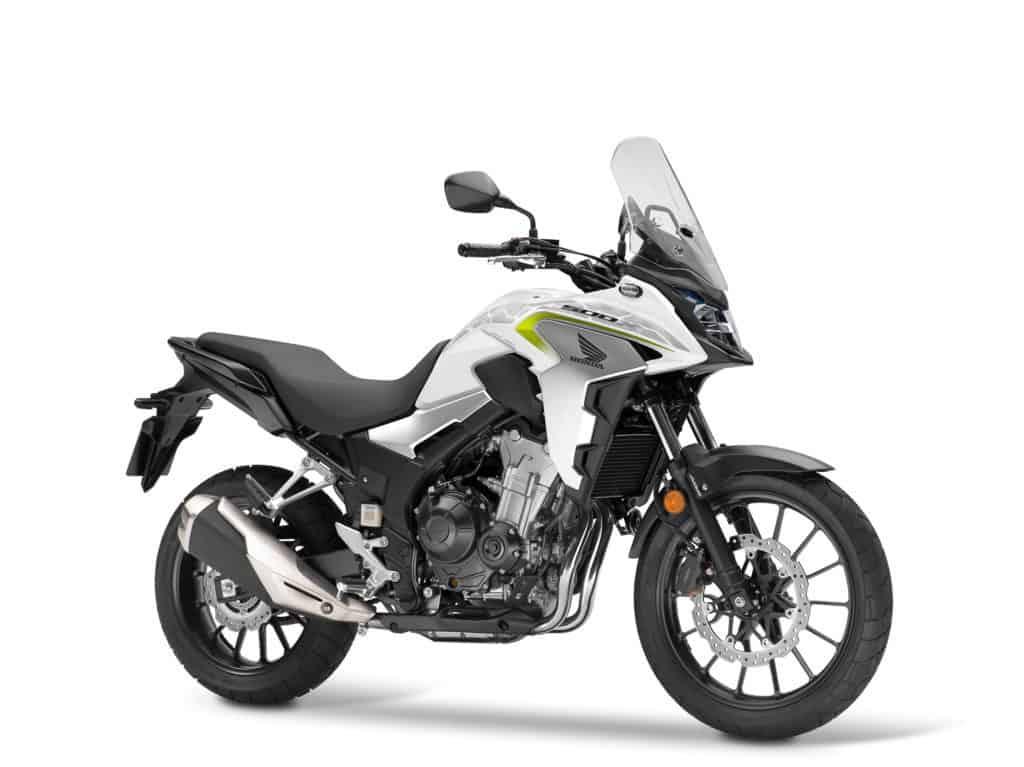 Honda CB 500X in Pearl Metalloid White