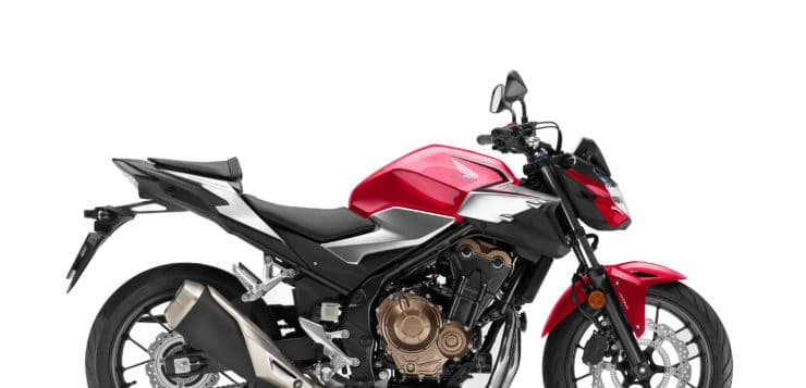 Honda CB 500F (2019) in Grand Prix Red