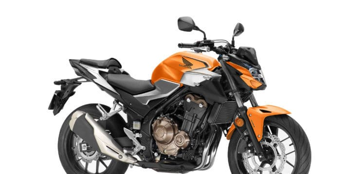 Honda CB 500F (2019) Candy Energy Orange