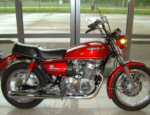 Honda CB 750 Hondamatic – Sonderling und Ladenhüter