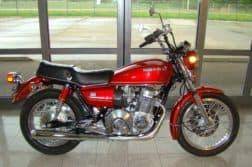 Schön restaurierte Honda CB750A Hondamatic