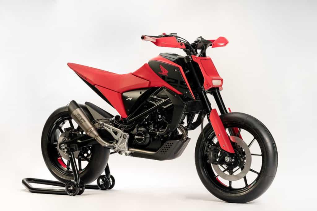 Honda zeigt mit der CB 125 M eine aufregende Leichtkraftrad-Zukunft
