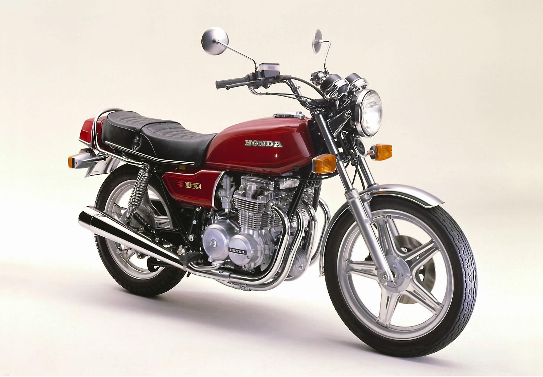 Honda CB 650 aus dem Jahr 1979