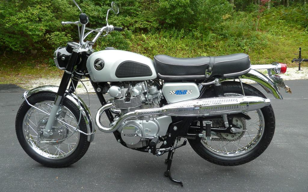 Honda CB bzw. CL450D von 1967