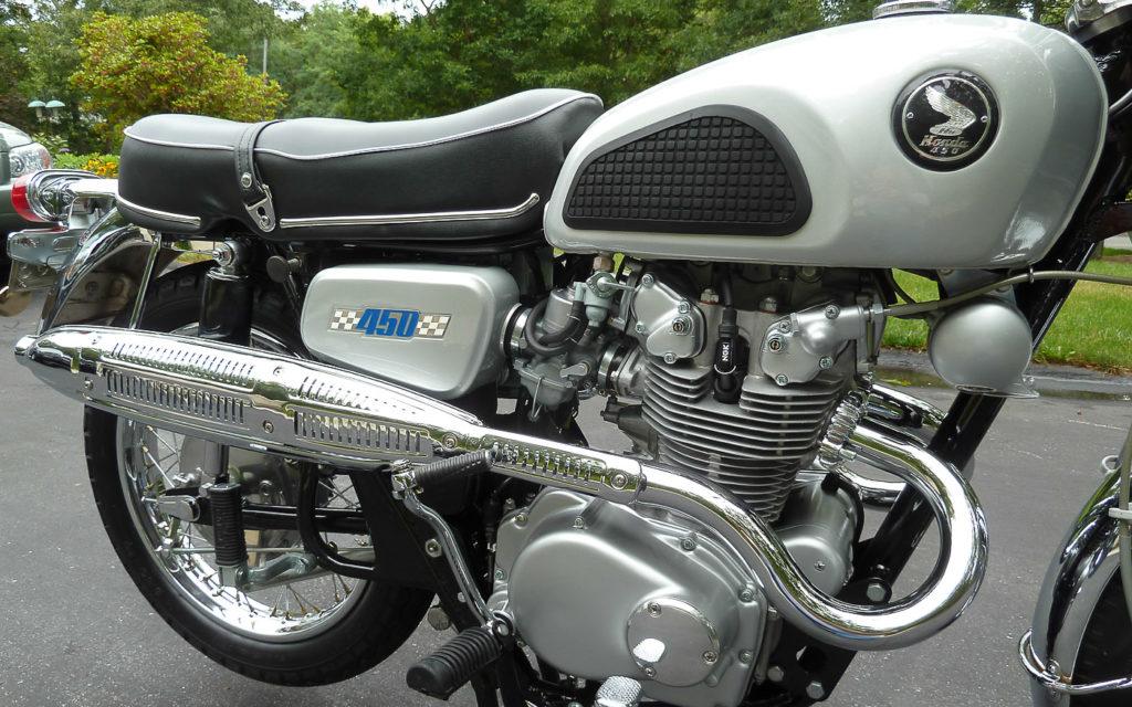 Der Umbaukit von der CB 450 zur Honda CL450D bestand aus 44 Teilen