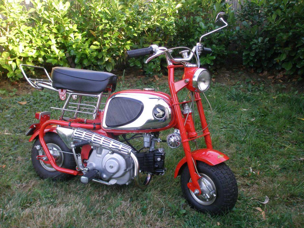 Glücksfund: Honda Monkey CZ100 von 1965
