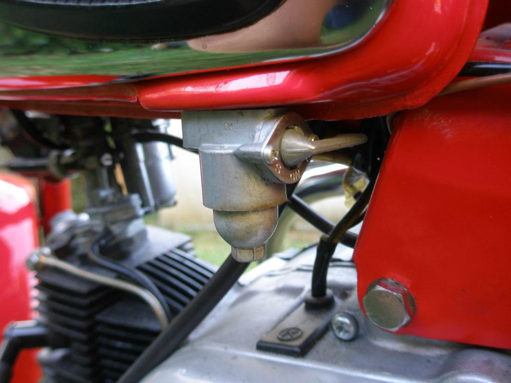 Der Motor der Honda CZ100 wurde schnell wiederbelebt