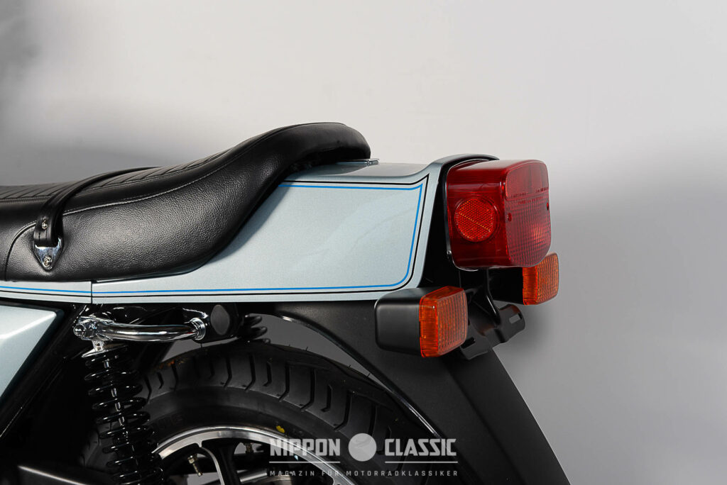 Markant: der Heckbürzel der Kawasaki Z1R