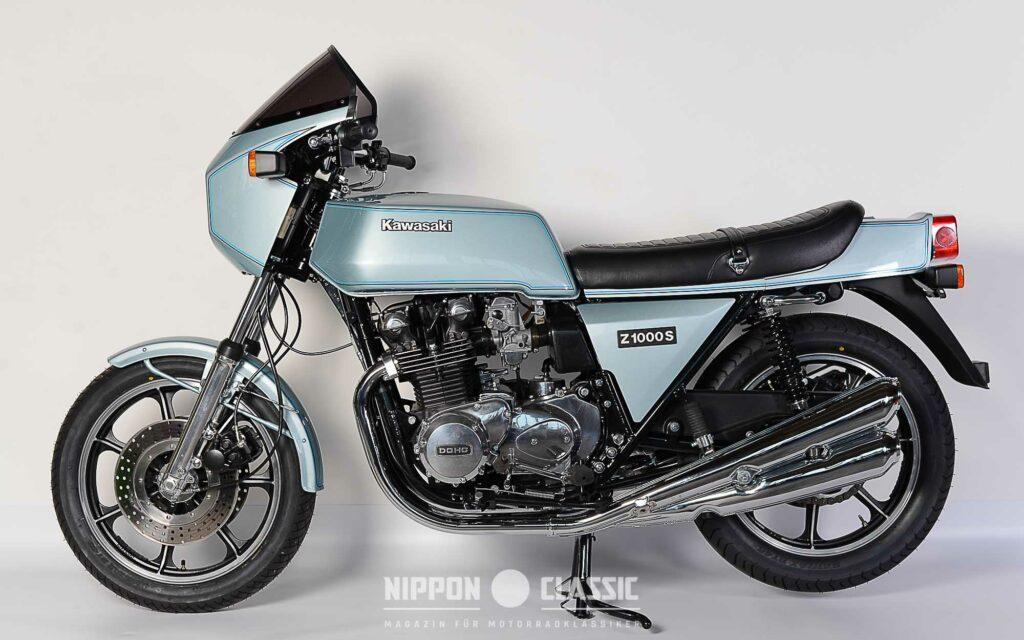 Die Kawasaki Z1R kam 1978 mit völlig neuem Design daher