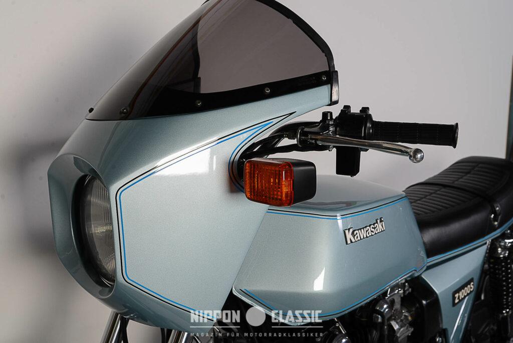 Die Kawa 1000 Z1R gilt als erster Serien-Café-Racer