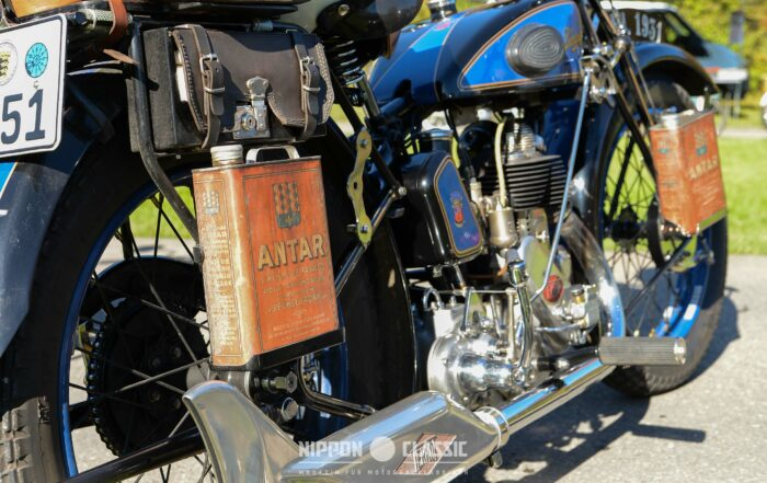 Motoröl für Oldtimer-Motorräder