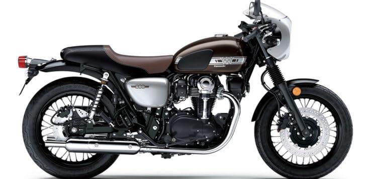 Die Kawasaki W800 Cafe ist von Customizern inspiriert