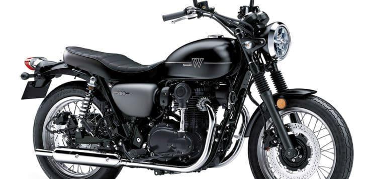 Comeback der Kawasaki W800 in 2019 mit ABS