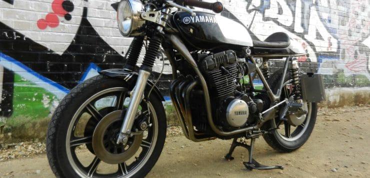 """Gefälliges Yamaha XS 750 Erstprojekt aus einem """"Scheunenfund"""""""