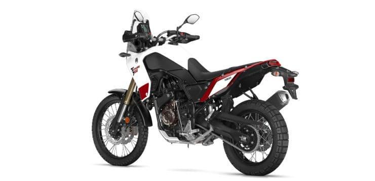 Die Yamaha Ténéré 700 wird ungefähr 200 bis 210 Kilogramm wiegen