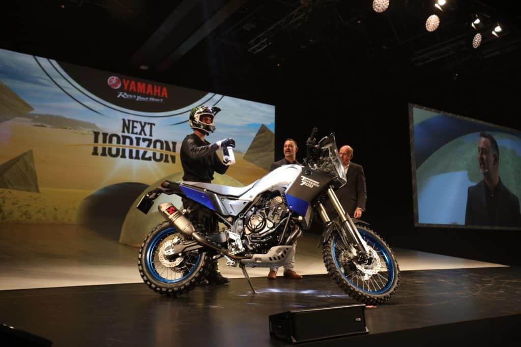 Vorstellung der neuen Yamaha XTZ700 auf der EICMA in Mailand