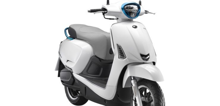 Der Kymco Elektroroller New Like 110 EV hat 124 Nm Drehmoment