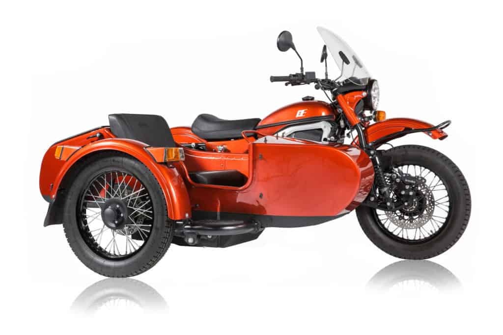 """Das Elektro-Gespann wird auf der """"Progressive Motorcycle Show"""" zu sehen sein"""