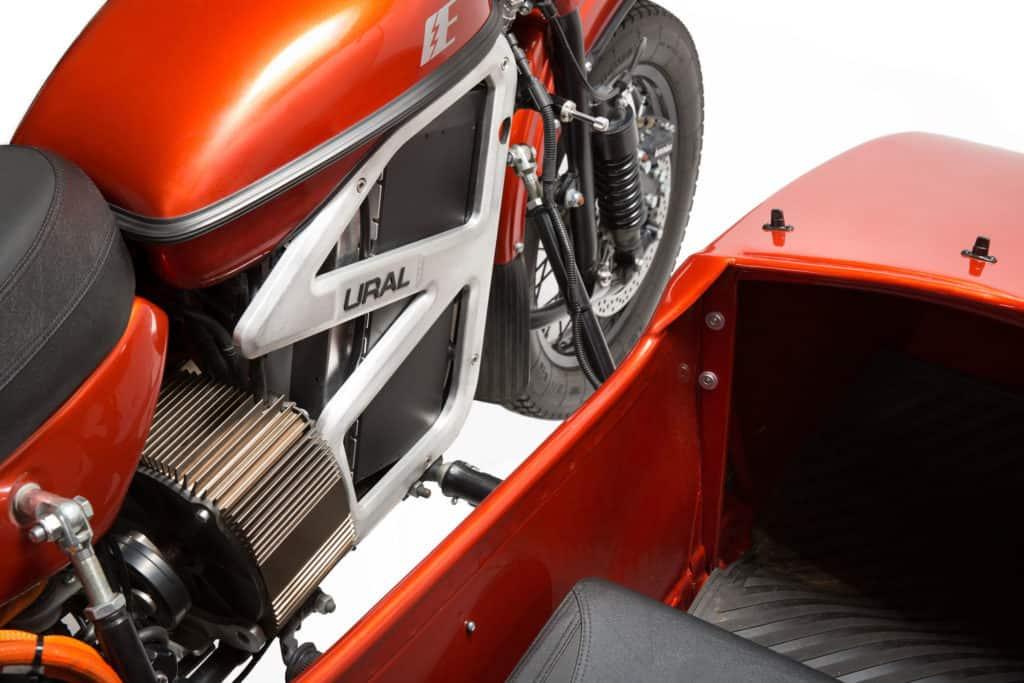 Ural verspricht für sein Elektromotorrad eine Reichweite von 165 Kilometern