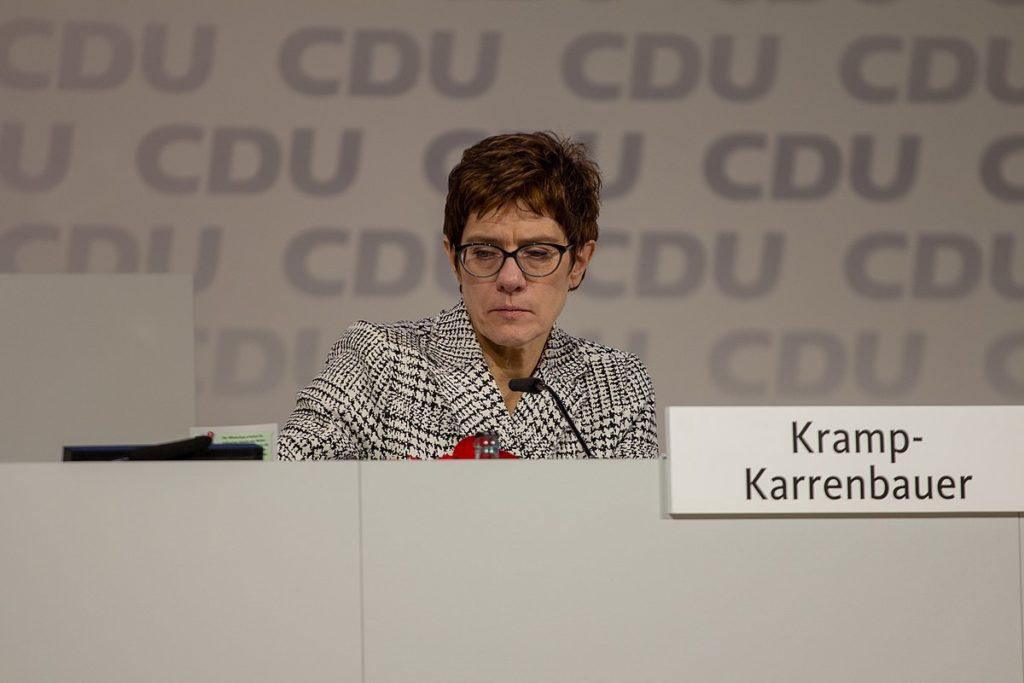AKK beim CDU-Parteitag