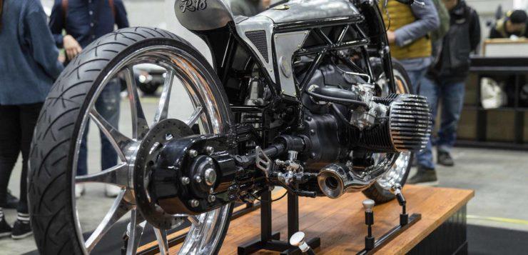 Der Custom BMW 1800 Boxer war auf der Hot Rod Custom Show in Yokohama zu sehen