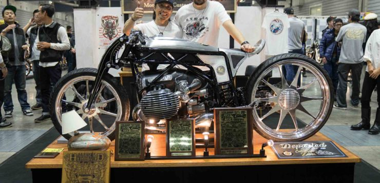 "Custom Work gewann den ""Best of Show Motorcycle"" Award"