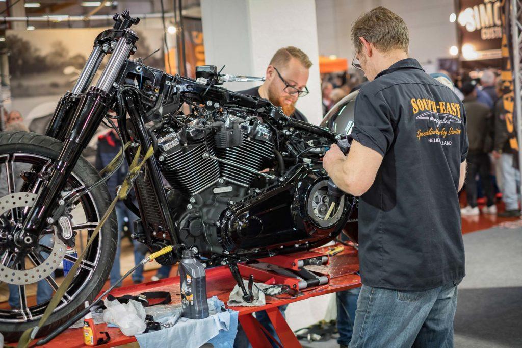 European Biker Build-off: Team South East Motorcycles