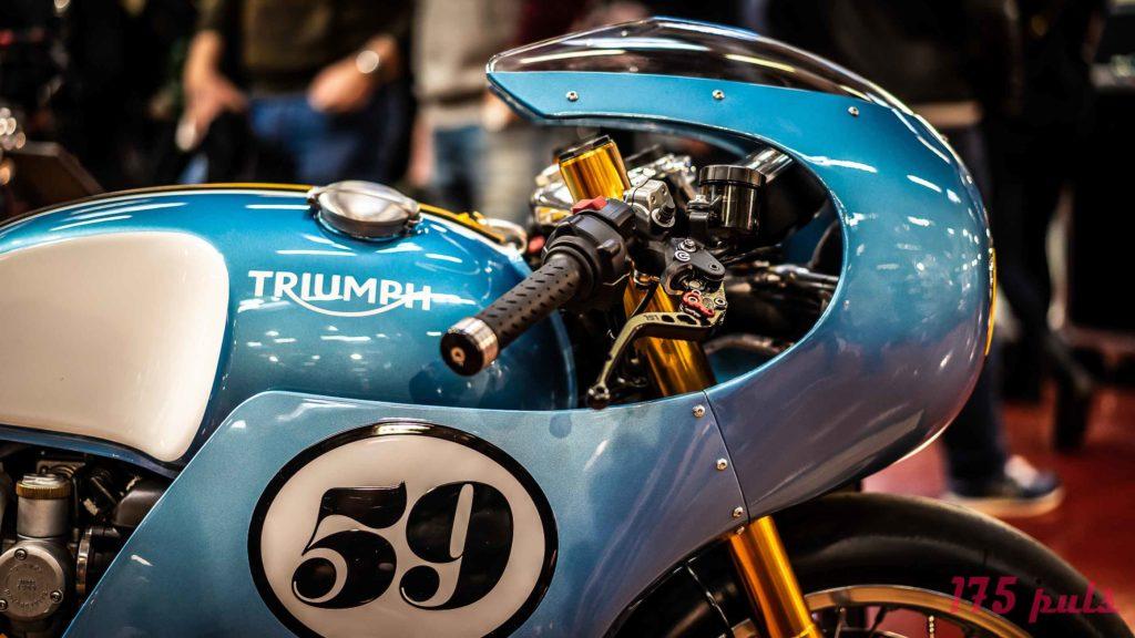 Triumph Thruxton Racer auf der Custombike Show 2018
