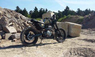 Im Gegensatz zur Werksoptik besitzt Thilos SLR 650 Umbau eine aufregende Radikalität