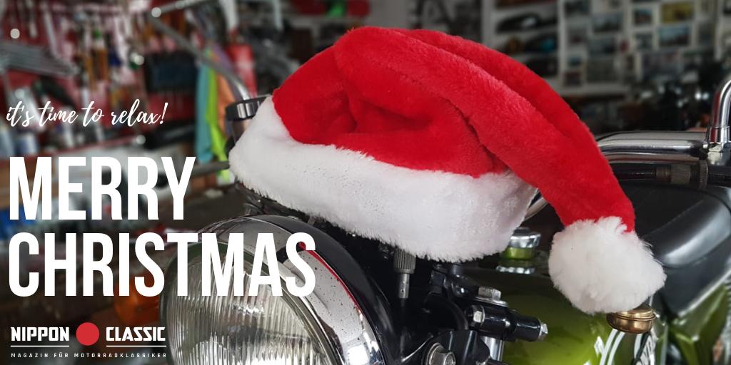 Frohe Weihnachten Motorrad.Nippon Classic De Wunscht Euch Frohe Weihnachten 2018