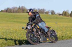 Wenn man will, schafft die Mondial HPS 125i gut 110 km/h